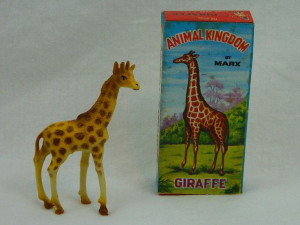... - FIGURE 1960'S MINT W/ ORIGINAL BOX -: Marx Animal, Animal Kingdom