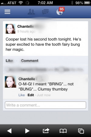 The Tooth-Fairy Clumsy thumbsy