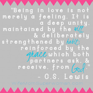 Marriage quote by C. S. Lewis