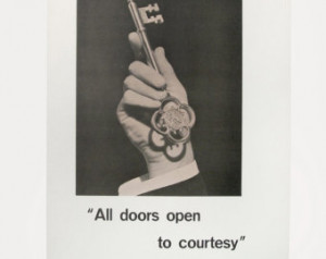 Vintage Inspirational Poster - Thomas Fuller Quote - COURTESY ...