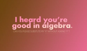 Math love quotes rocks *geek mode*