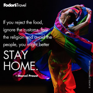 Travel Quote of the Week: On Embracing New Cultures