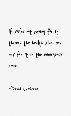 David Lehman Quotes & Sayings