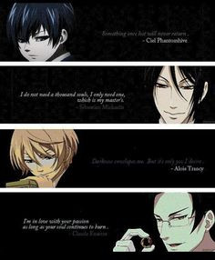 black butler quotes more kuroshitsuji quotes butler life animal quotes ...
