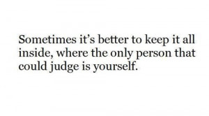 judge, quote, text, yourself