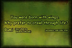 rumi quotes on life & struggle
