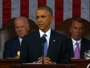 Obama Quotes Obama In State of the Union Address
