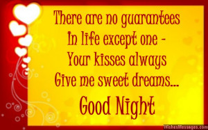Have A Great Husband Quotes Sweet good night quote for
