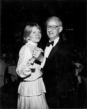 Robert Morgenthau and Lucinda Franks