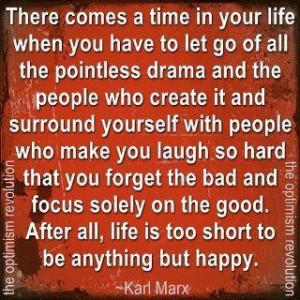 Images let go of the drama picture quotes image sayings