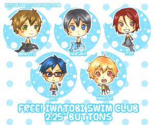 September Free Iwatobi Swim