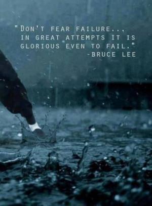 Bruce Lee wisdom.