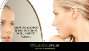 Knowing Yourself is the Beginning of All Wisdom (Aristotle Quote)
