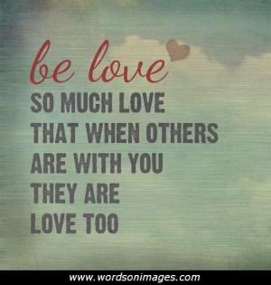 Powerful love quo...