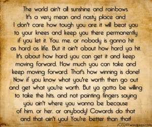 Rocky Balboa Quotes HD Wallpaper 15