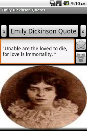 Emily Dickinson Quotes - screenshot