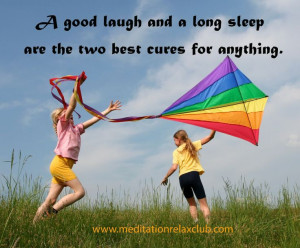 laugh, smile, sleep, happyness, relax, relaxation, rainbows, quotes