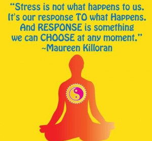 Stress Is Not What Happens to Us