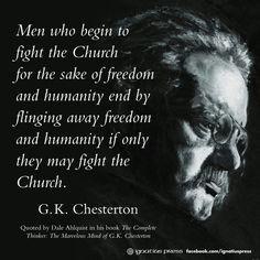 chesterton quotes more ego catholicam catholic discourse rc quotes ...