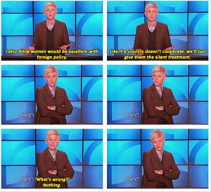 Funny Ellen Degeneres Quotes