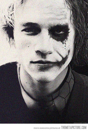 Heath Ledger Joker art