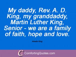 Alveda King Quotations