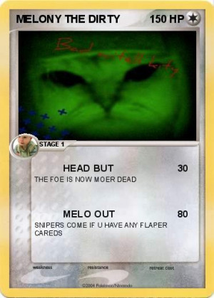 Pokemon Melony The Dirty