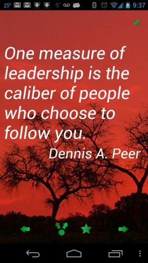Leadership Quotes Pro - screenshot
