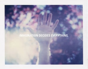 blurry, hand, imagination, inspirational, photography, quotes, words
