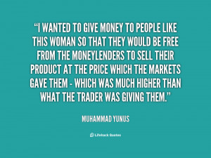 Giving Money Quotes