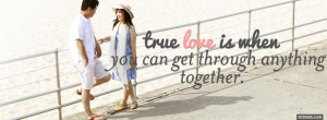 cute true love quotes facebook cover