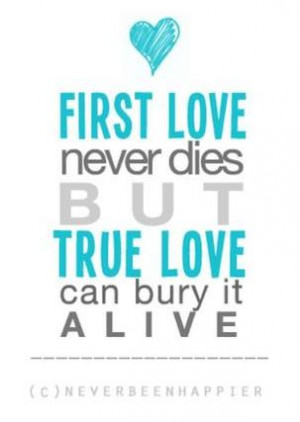 First Love Quotes - The Quotes Tree