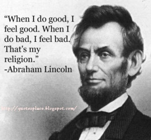 Famous Quotes by Abraham Lincoln