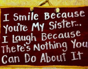 love it i smile because