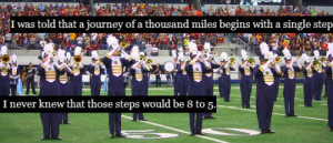 marching band quote