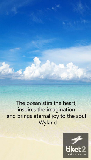 Quote about the ocean