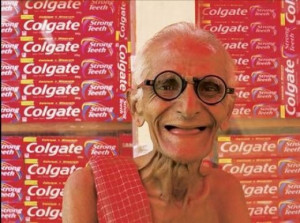 Funny Indian Images: Funny uncle new brand ambassador of Colgate