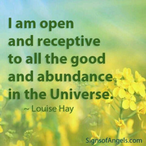 Open and receptive