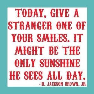 Smiles=sunshine