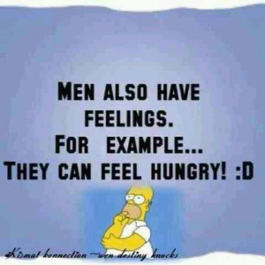 Men's feelings?