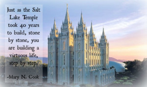 husband has elevated my womanhood to the highest level. Mormon temple ...