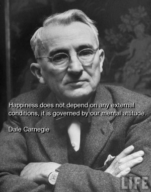 Dale carnegie, quotes, sayings, happiness, clever, quote