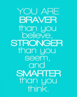 ... , and smarter than you think. Christopher Robin to Winnie the Pooh