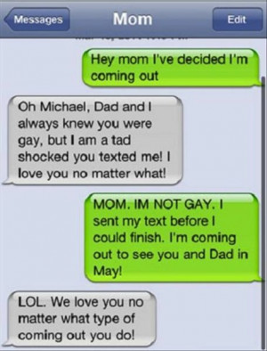 Hilarious texting fails from parents 7