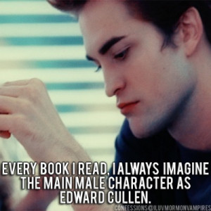 Twilight Fan Confessions: Edward Cullen