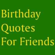 Birthday Quotes For Friends Facebook Share