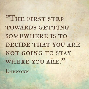 Top quotes for moving on