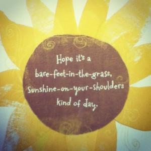 Cute idea to brighten someone's day :)