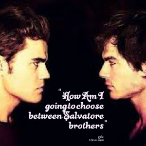Brothers Quotes From Brothers Between salvatore brothers