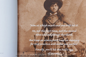 Annie Oakley Quotes Google